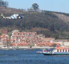 O GES da Guarda participa nun simulacro de emerxencias internacional no Río Miño