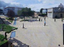 A humanización da praza da Paradela unha obra que vai transformar todo o centro de Gondomar