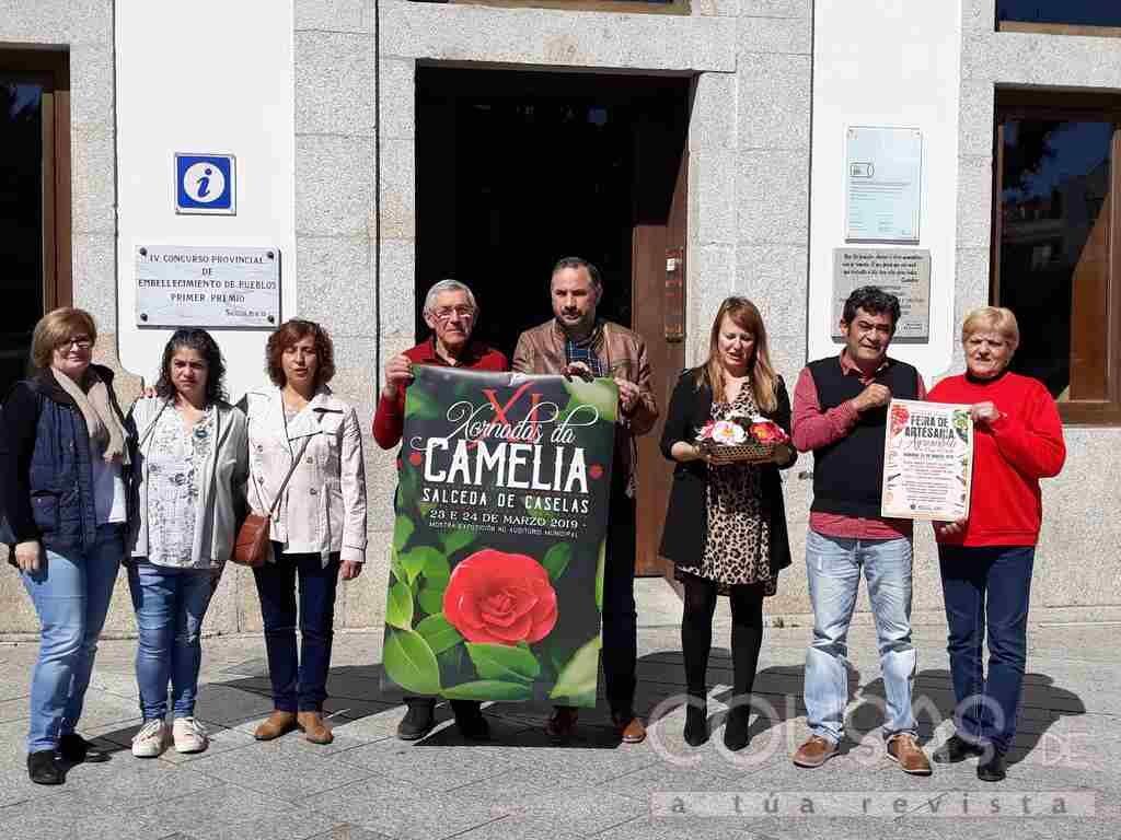 500 variedades de camelia hacen de Salceda a capital da primavera