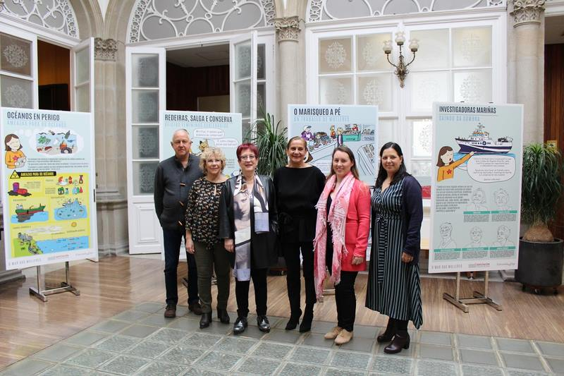 Visibilizar ás mulleres do mar, obxetivo dun proxecto da Deputación e Universidade de Vigo para aos centros da provincia