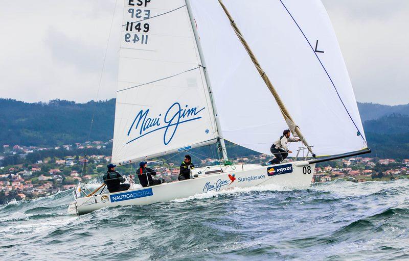 A baía de Baiona será escenario un ano máis da regata de primavera Trofeo Repsol
