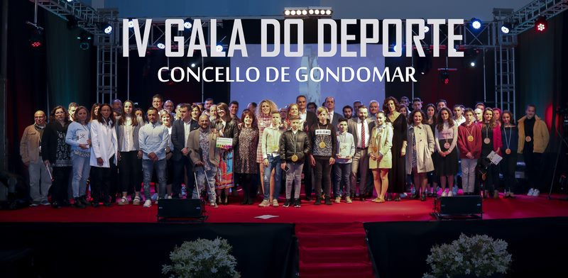 Gondomar premia aos seus deportistas na IV Gala do Deporte