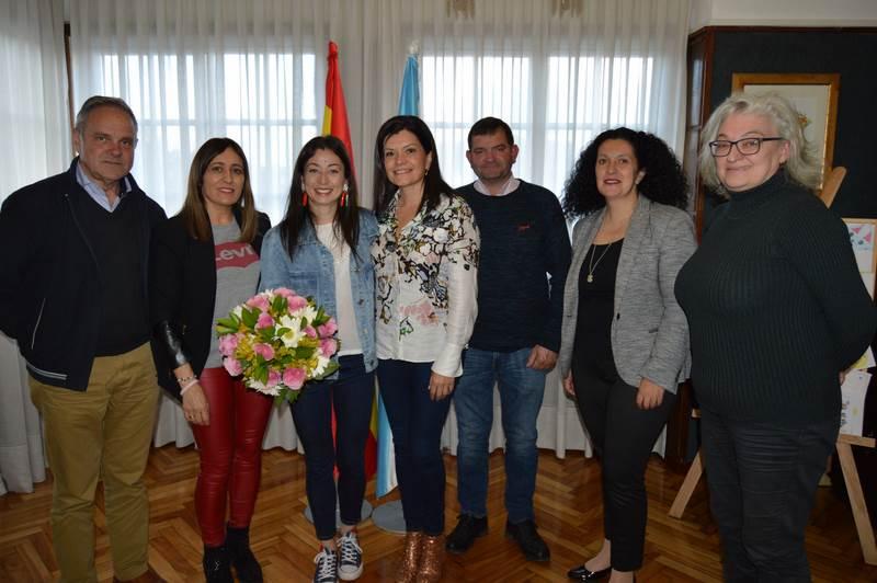 Mos homenaxea á súa ciclista e campioa de España, Susana Alonso