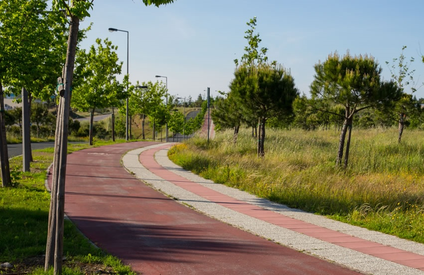Valença quere ser máis amiga do medio ambiente e gaña unha nova ciclovía urbana