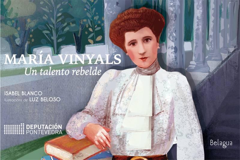 O talento rebelde de María Vinyals chega a dous institutos de Mos e Baiona