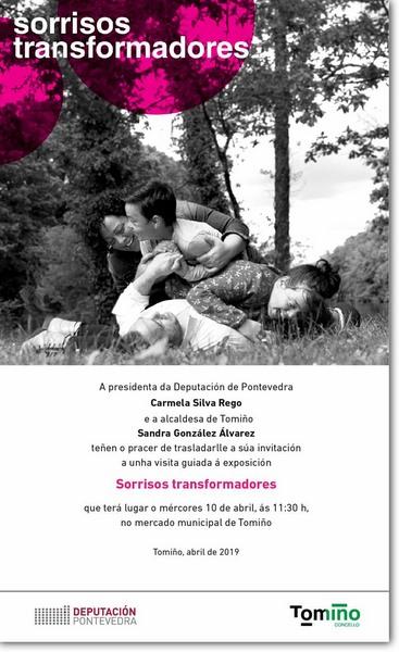 """A exposición itinerante """"Sorrisos trans*formadores"""" Tomiño"""