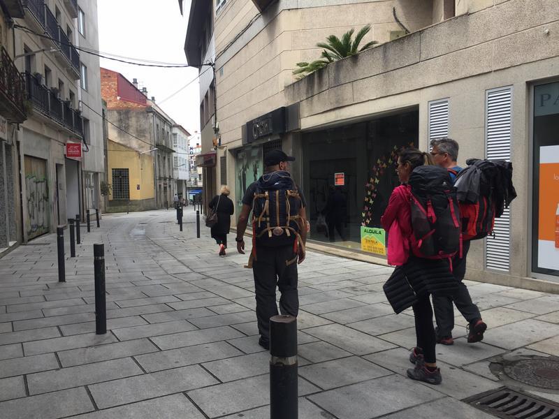 A Guarda incrementa o número de peregrinos que realizan o Camiño Portugués da Costa