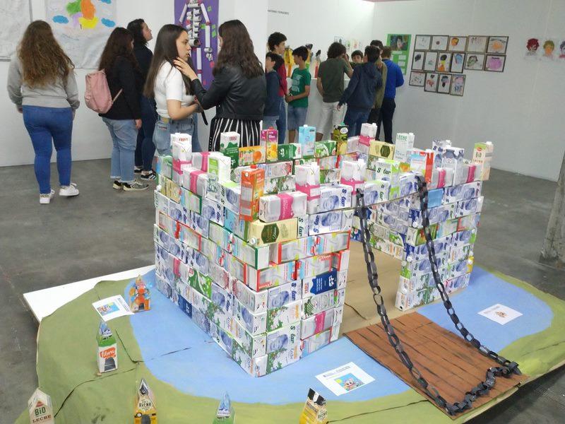 "Tres colexios tomiñeses participan na ""Bienal dos Pequeninos"" de Vila Nova de Cerveira"