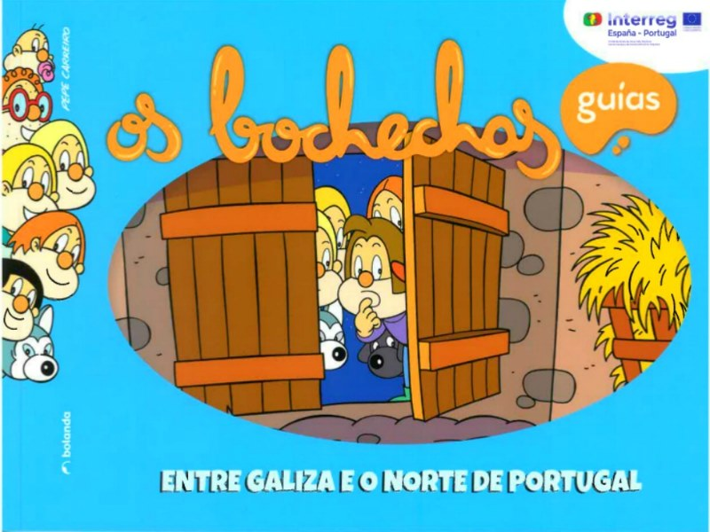 Historias infantis entre Galicia e o Norte de Portugal. A Eurocidade Tui Valença presentou os 'Bolechas'