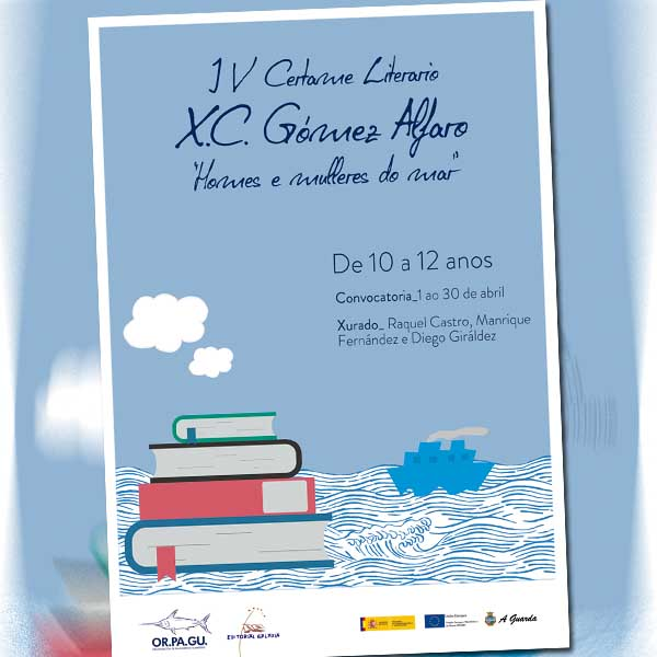 """concurso de relatos """"Xosé Carlos Gómez Alfaro""""."""