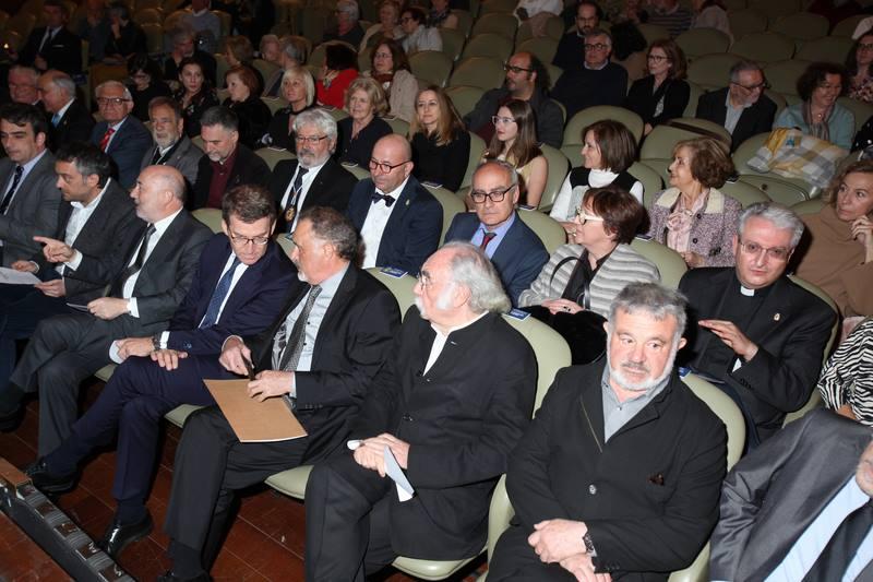 O Teatro Colón da Coruña acolleu o acto de celebración do 'Día das Artes Galegas 2019'