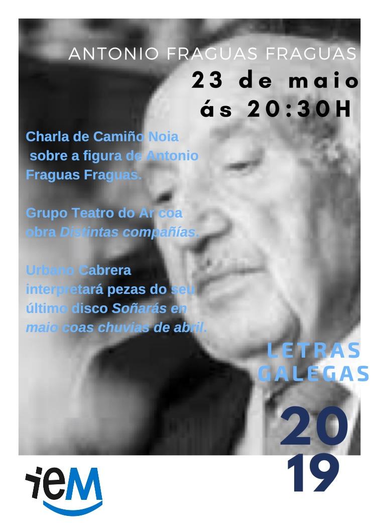 Homenaxe en Gondomar a Antonio Fraguas Fraguas