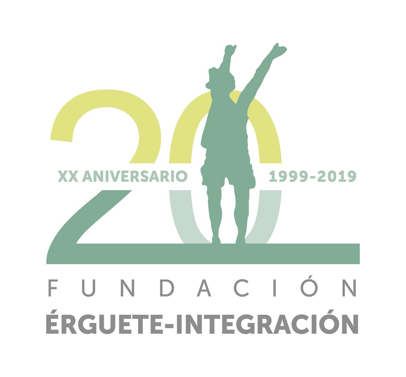 A Fundación Érguete-Integración celebra o seu XX Aniversario coa Xornada 20 anos traballando coas persoas