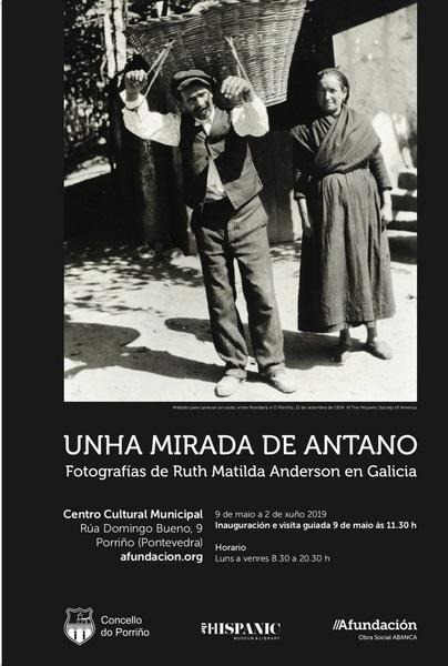Inaugurada a exposición fotográfica de Ruth Matilda Anderson no Centro Cultural de Porriño