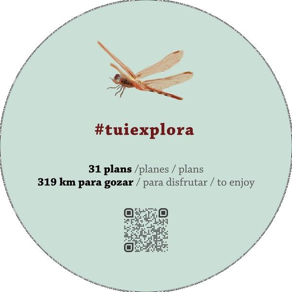 """O novo folleto turístico """"Explora Tui"""" propón 31 plans activos para descubrir o municipio tudense"""