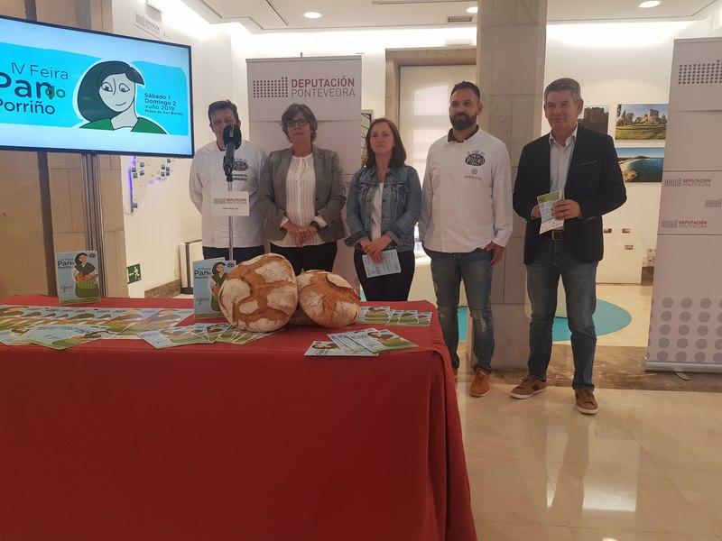 O Porriño reivindica catro séculos de tradición para converterse na capital galega do pan
