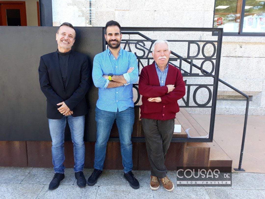 Goián acolle a presentación do documental sobre a vida e obra do pintor Antonio Fernández