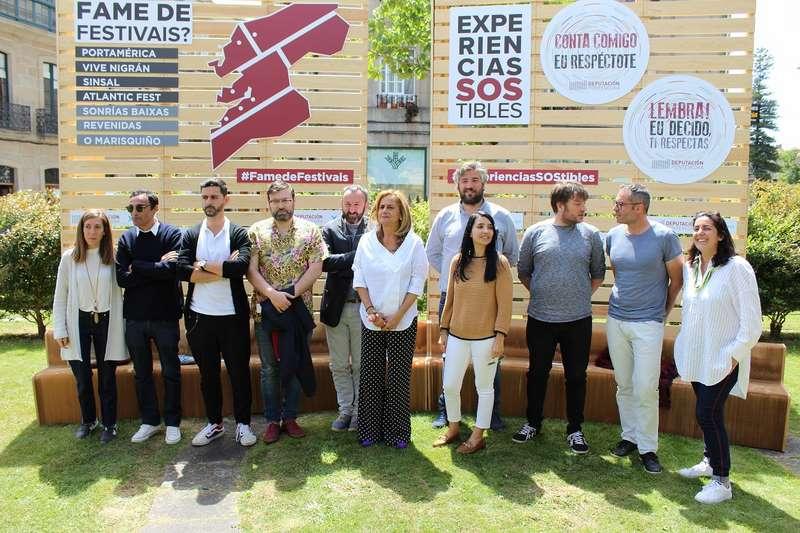 Silva presenta os Festivais Rías Baixas 2019 que se extenderán pola provincia entre os meses de xullo e agosto