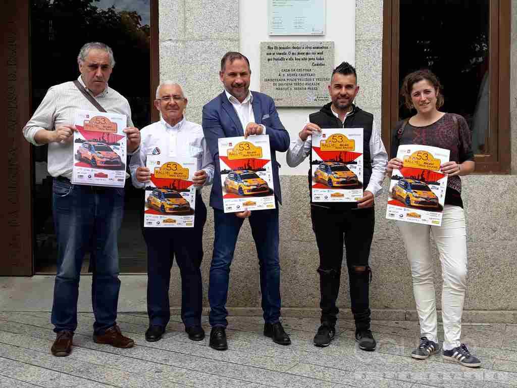 A vitoria no Rally Rías Baixas pasa por Salceda de Caselas