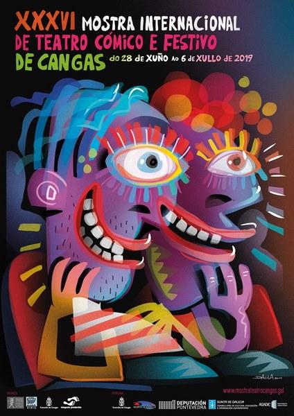 A Mostra de Teatro Cómico e Festivo de Cangas presenta a súa trixésimo sexta edición