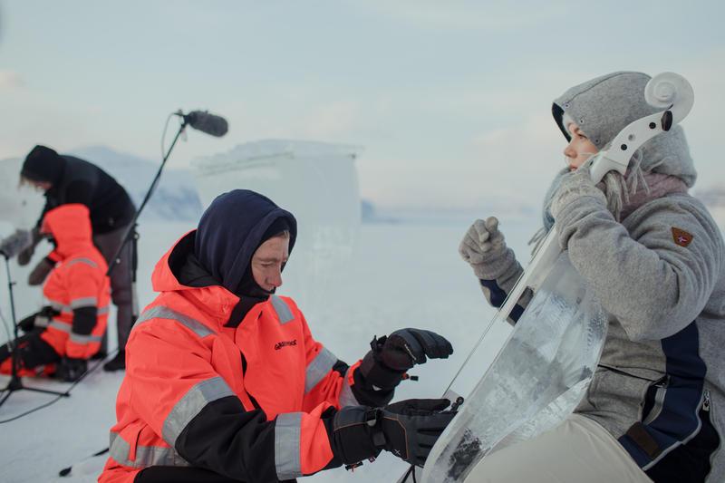 Concerto sobre xeo no extremo norte do Ártico para apoiar a creación de santuarios mariños