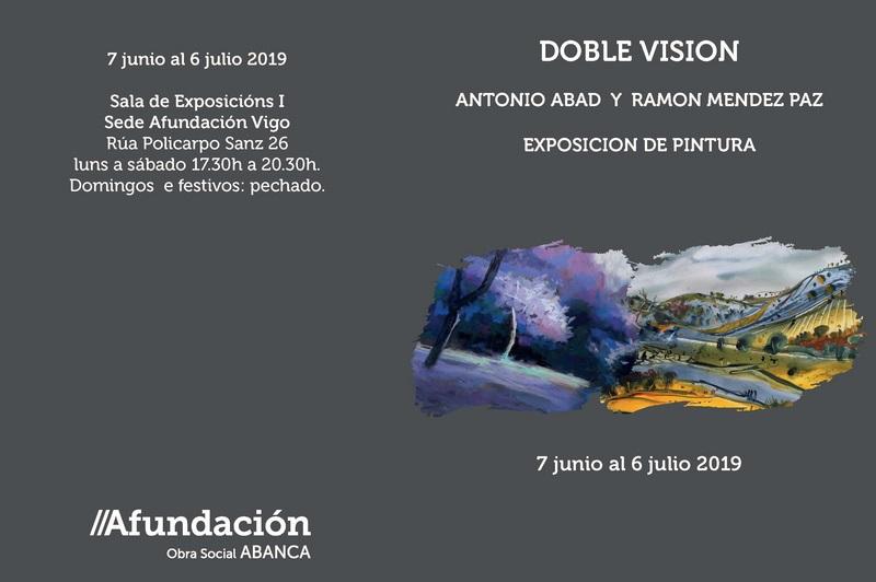 A sede de Afundación acolle a exposición 'Dobre visión'
