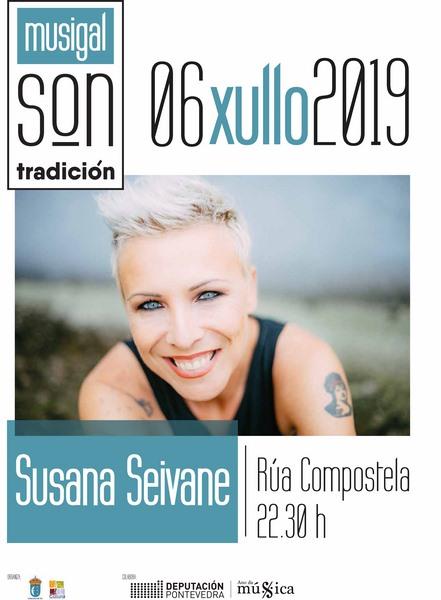 Concerto de Susana Seivane en Tui