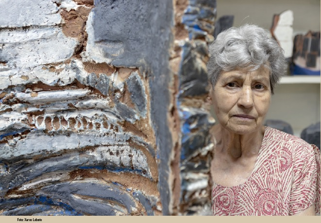 """A Casa das Artes de Vigo acolle a exposición """"Construíndo cos materiais, Elena Colmeiro 1958-2016"""""""