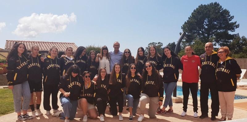 Nigrán e Vila Nova de Gaia hermanados polo baloncesto