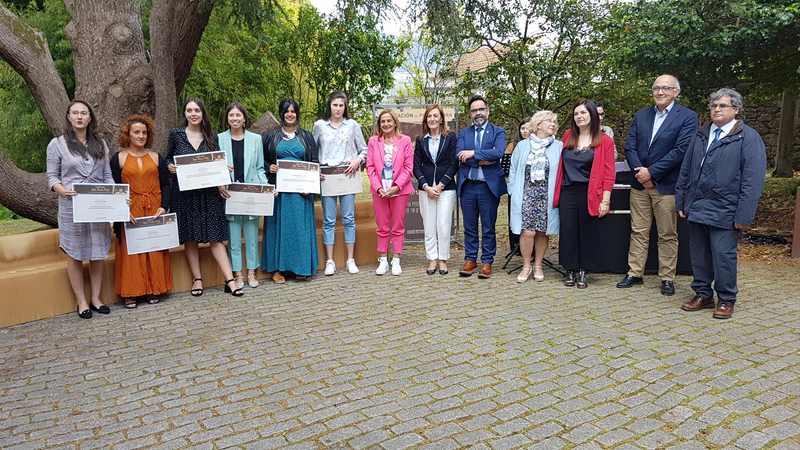 Seis estudiantes da Universidade de Vigo galardoadas co premio Sofía Novoa