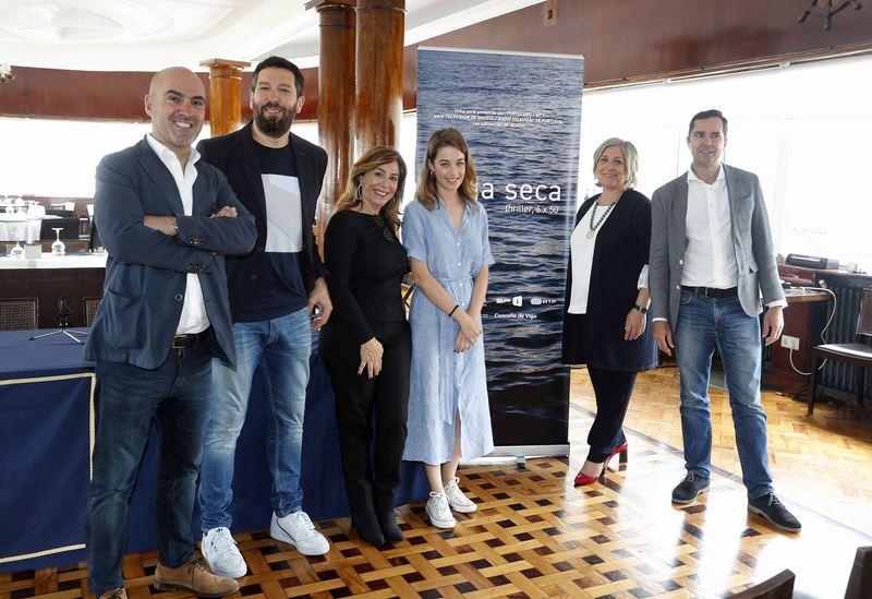 """Comeza a rodaxe en Vigo da serie galego-portuguesa 'Auga seca"""""""