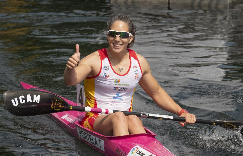 Teresa Portela prata na Copa do Mundo de Duisburg