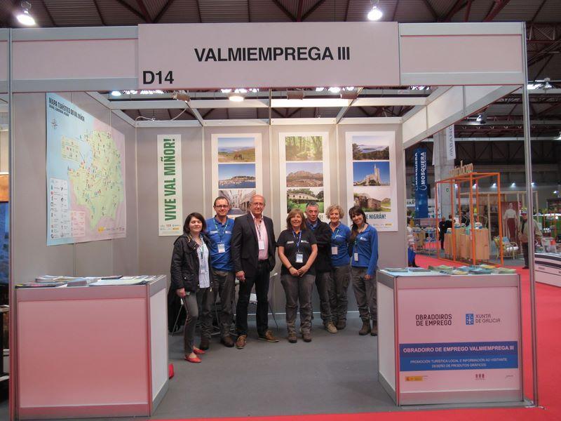 Valmiemprega III promociona o Val Miñor en Turexpo 2019