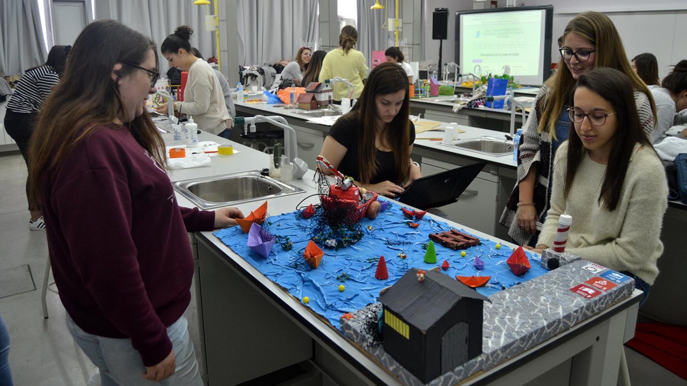 Robótica educativa para levar as aulas os obxectivos da Axenda 2030