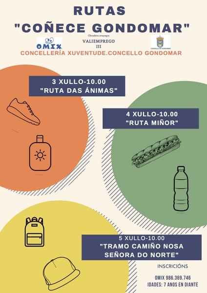 Rutas de sendeirismo para coñecer Gondomar