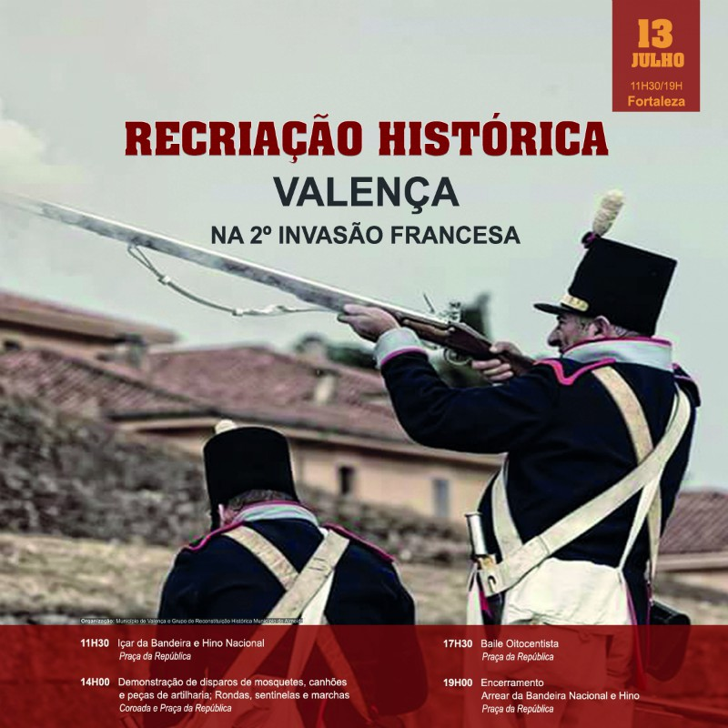 Valença revive a segunda invasión francesa cunha recreación histórica