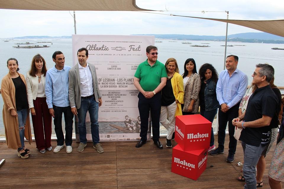 O Atlantic Fest chega á Illa de Arousa reforzando o seu compromiso medioambiental
