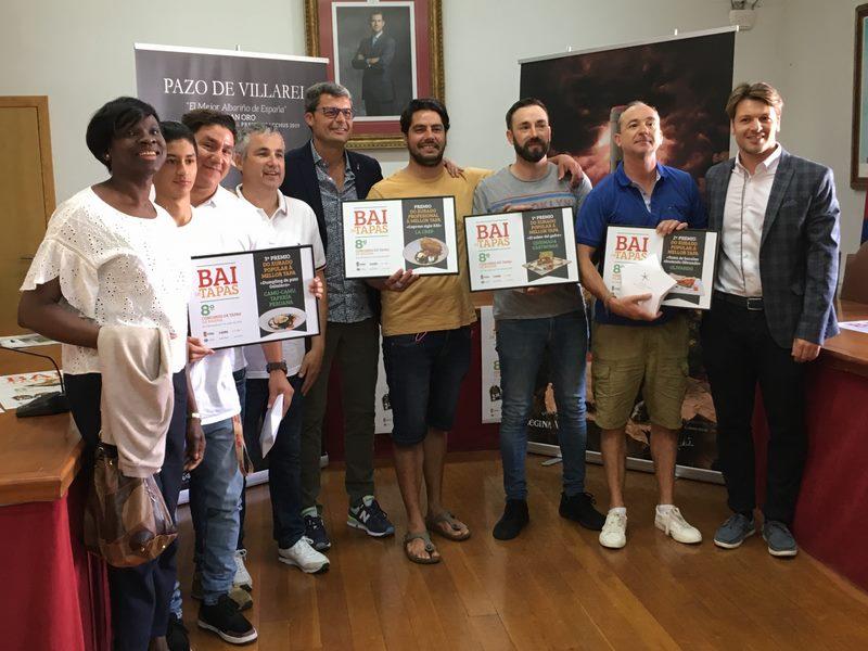 """""""El Sabor del Gofre"""" do Queimada Gastrobar gaña a oitava edición do concurso Bai de Tapas de Baiona"""