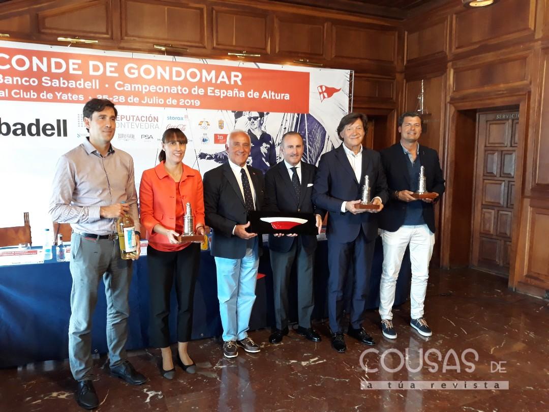 O Conde de Gondomar cita ás mellores tripulacións nas Rías Baixas
