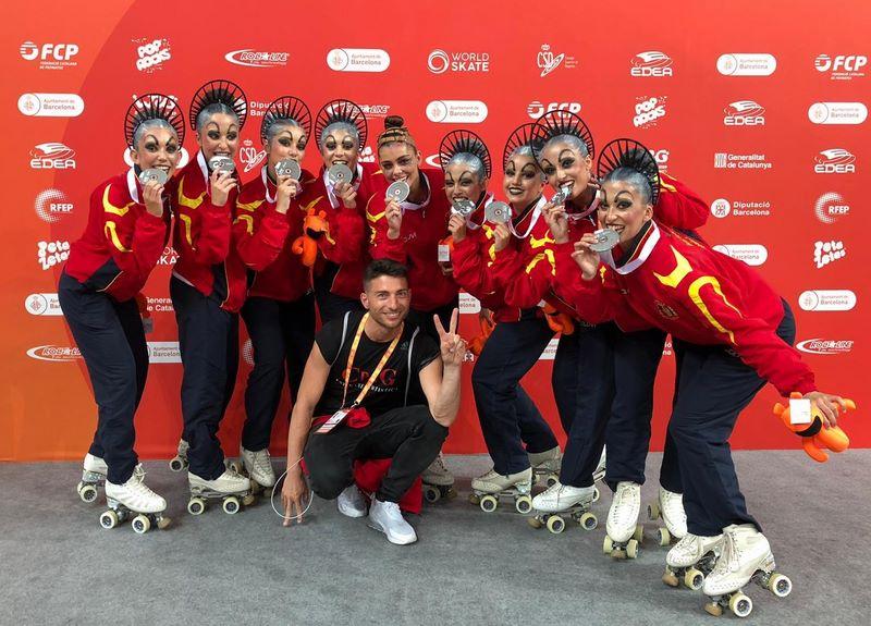 Prata para o CPA Gondomar no Campionato do Mundo nos WRG2019 Barcelona