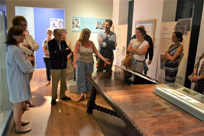 """Inaugurada a exposición """"O océano que nos une"""" na Casa da Navegación de Baiona"""