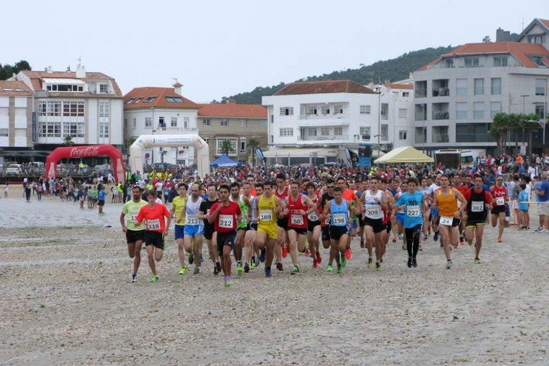 """A Sociedade Atlética Val Miñor e o Concello de Nigrán organizan unha nova edición da carreira pola praia """"Nigrán Area"""""""
