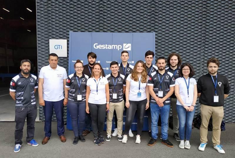 O equipo Motorsport da Universidade de Vigo amosa o seu novo monoplaza UM19