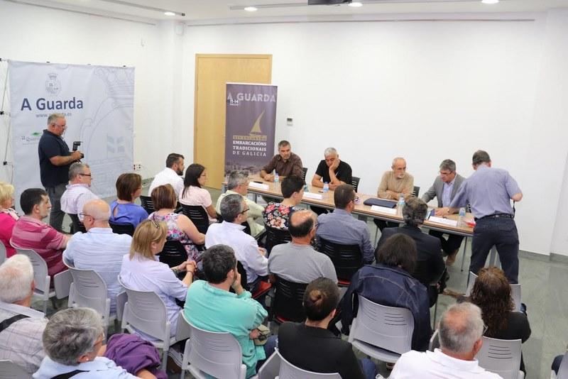 Os guardeses envórcanse co Encontro de Embarcacións Tradicionais de Galicia a oito días do evento