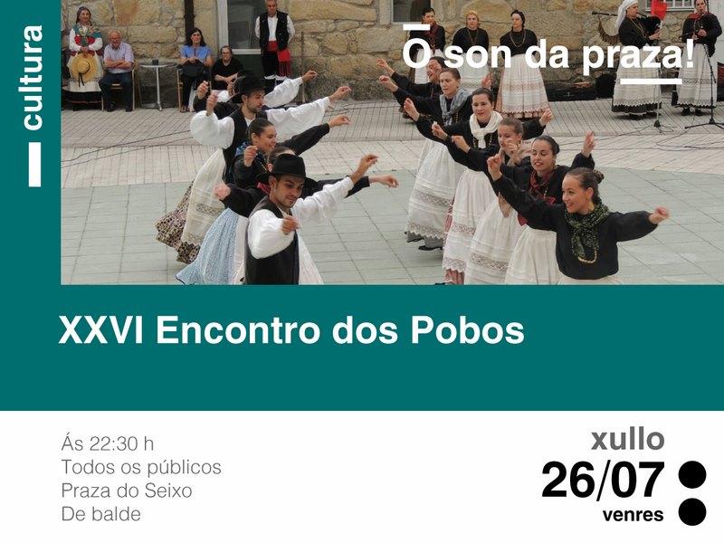 A Praza do Seixo de Tomiño acolle esta fin de semana o XXVI Encontro dos Pobos