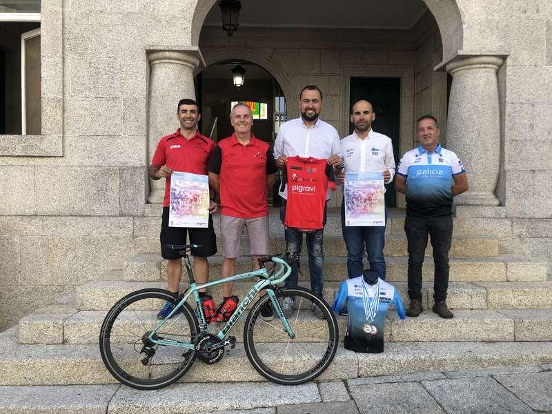 Recórd de participantes no Campionato de Galicia de Fondo en Estrada Máster de Ciclismo en Tui