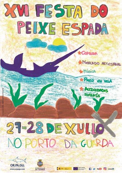A Festa do Peixe Espada dá Garda xa ten cartel oficial