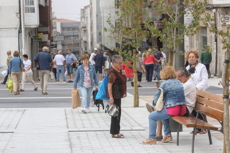 A nova rúa Concepción Arenal da comezo ao cambio do modelo urbano na Guarda