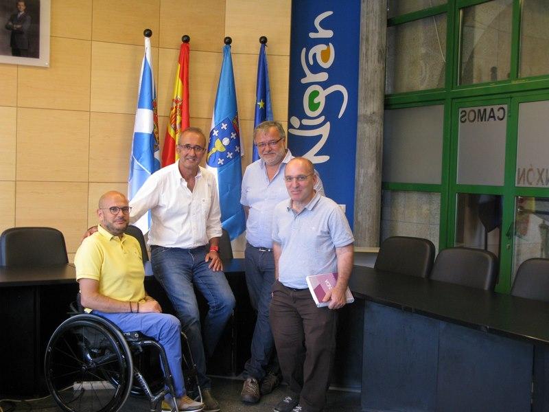 Nigrán confirma ante COGAMI a creación dun Plan Director de Accesibilidade Universal para o municipio