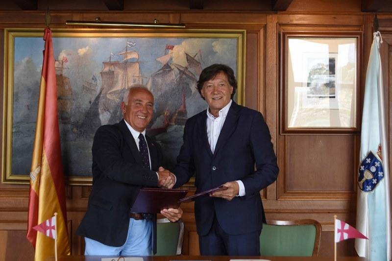 Deporte Galego renova o seu apoio á Escola de Vela Adaptada do MRCY de Baiona